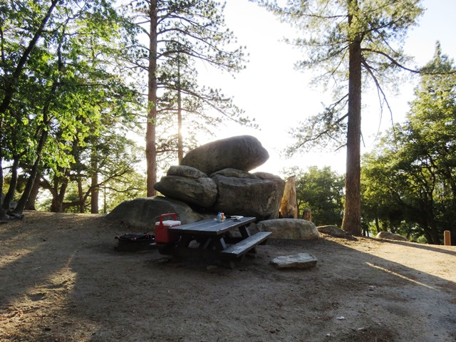 This campground has many shaded camping sites and is located on the San Jacinto Ranger District.