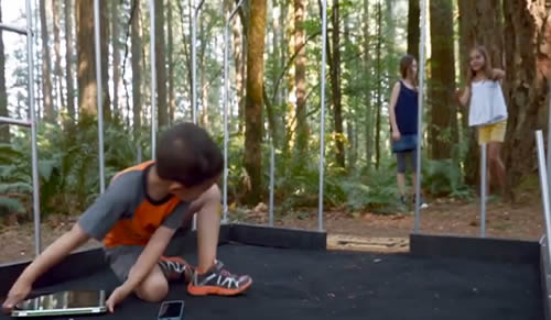 Screenshot of the Kids Get Outside Video