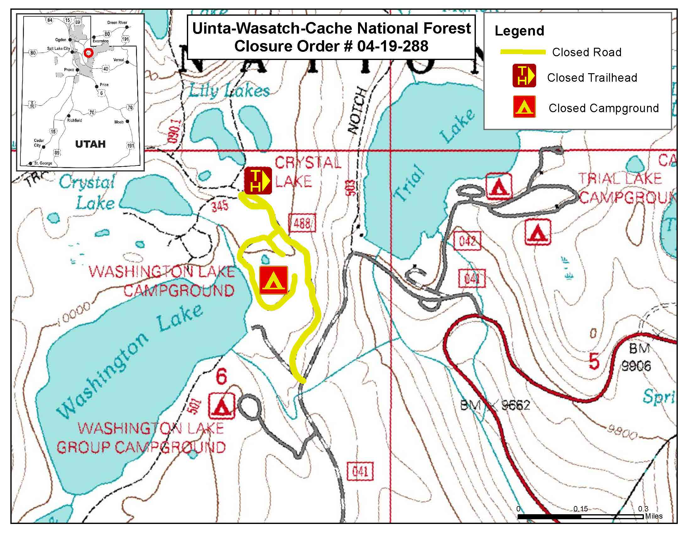 Uinta-Wasatch-Cache National Forest - Maps & Publications