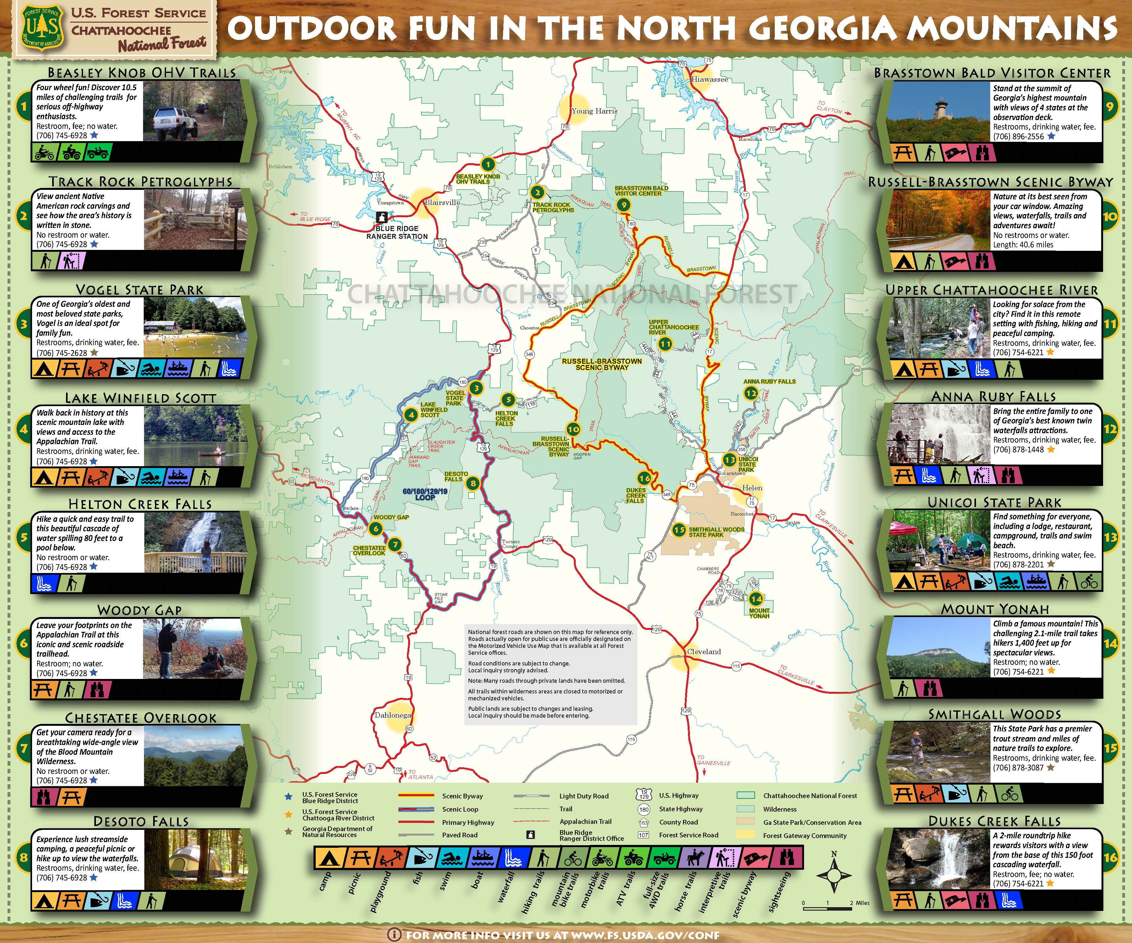 Chattahoochee-Oconee National Forests - Home