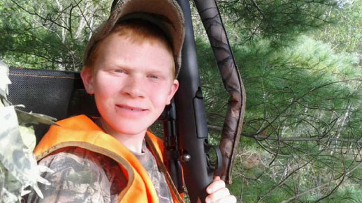 Youth hunter in Michigan