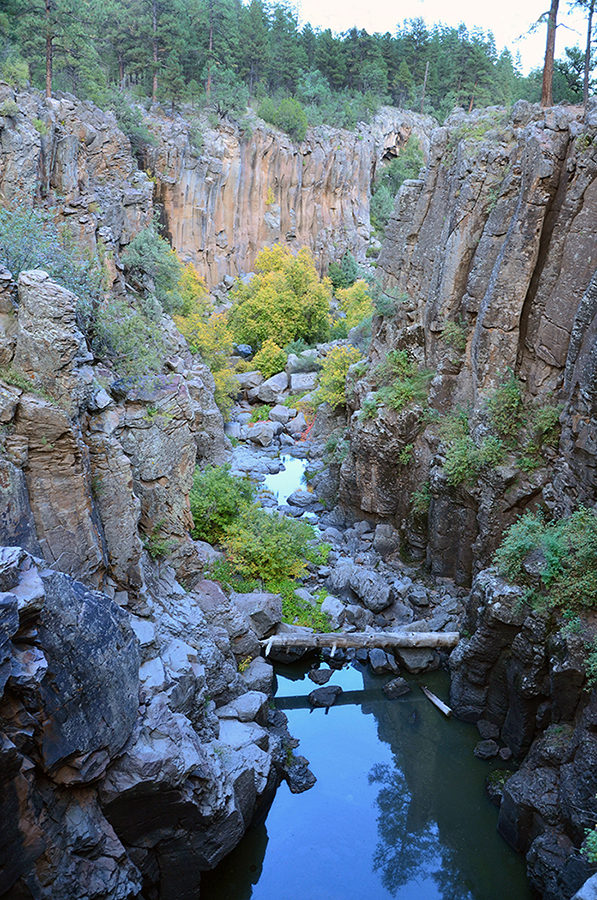 Sycamore Canyon Falls will fall leaves and water