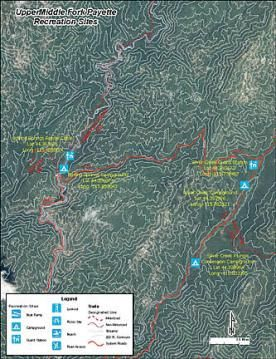 Upper Middle Fork Payette Recreation Sites