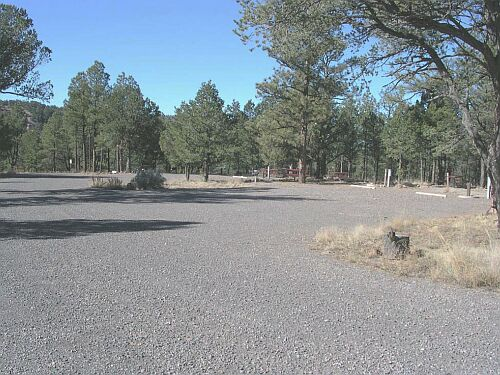 RV sites with hookups at Juniper Campground