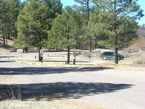 View across the Upper End campground