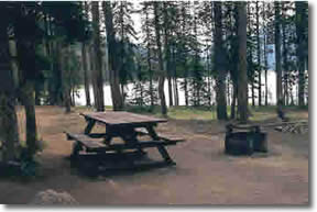 Boise National Forest Bull Trout Lake Campground Group Sites