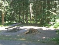 Photo of campsite at Big Hank Campground