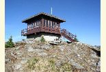 Photo of Shorty Peak Lookout on the Bonners Ferry Ranger District
