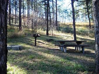 Pine ridge Ranger District  - Red Cloud Campground