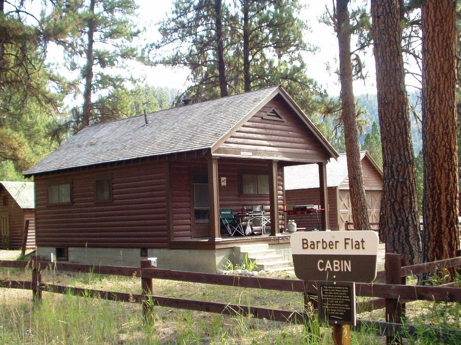 Barber Flat Rental Cabin