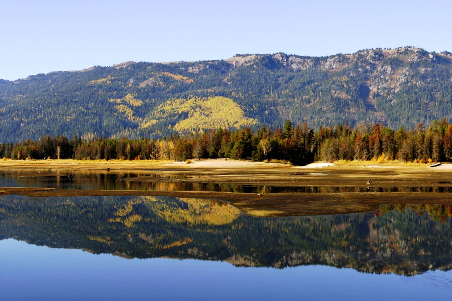 Cascade Lake in the Fall
