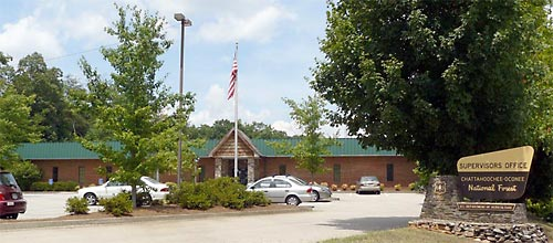 Photo of the Chattahoochee-Oconee Forest Supervisor's Office in Gainesville, GA