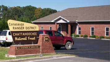 Photo of the Conasauga District Office