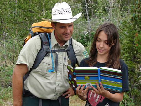Forest Service leads learning activities in the Miracles of Nature project -- photo by Steve Kozlowski