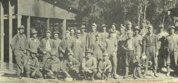 Employees of the Bully Boy Mine and Mill