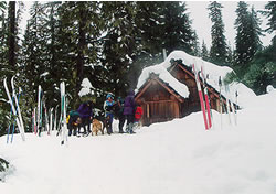 photo of Gold Lake shelter