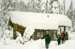 photo of Maiden Peak shelter