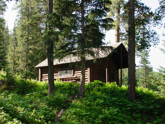 custer gallatin national forest mystic lake cabin