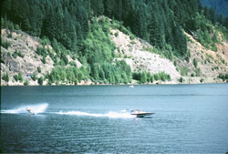 Image of Water Skier on Cougar Reservoir