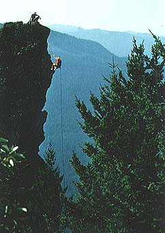 Image of Menagerie Wilderness Rock Climbing