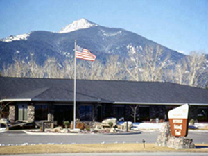 Photo of the Bitterroot National Forest Supervisor's Office.
