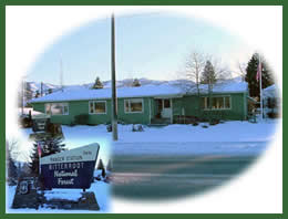 Photo of the Darby Ranger District office.