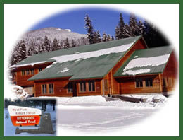 Photo of West Fork Ranger District office.