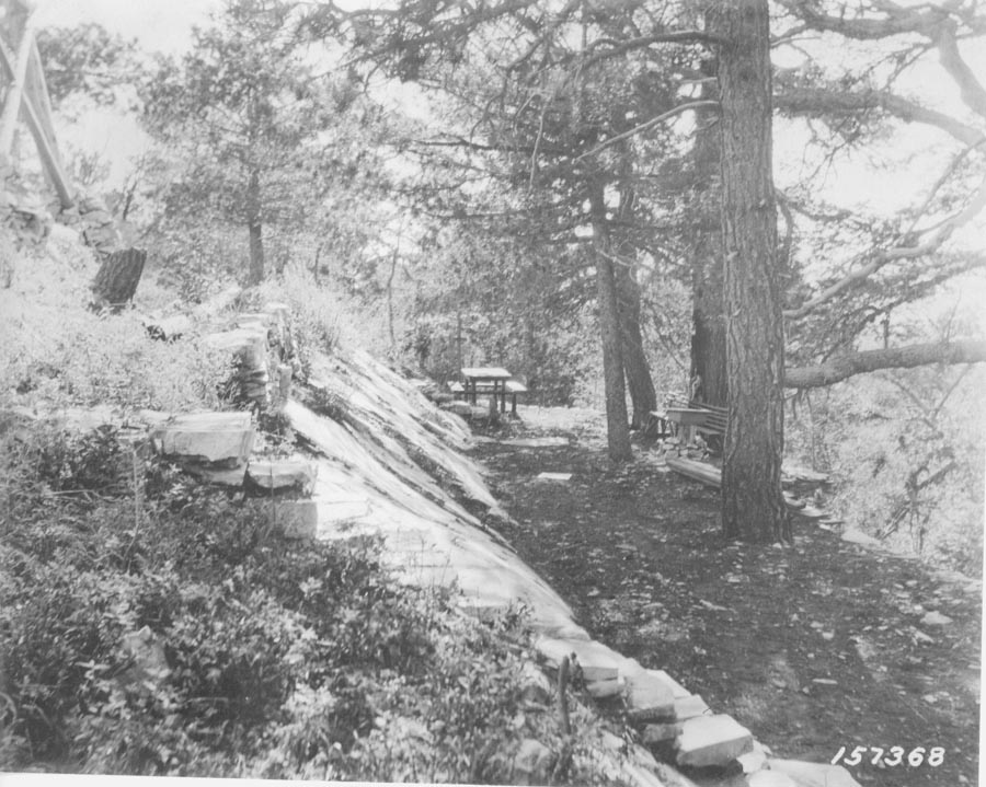 Bigelow Lookout Picnic Area, 1920