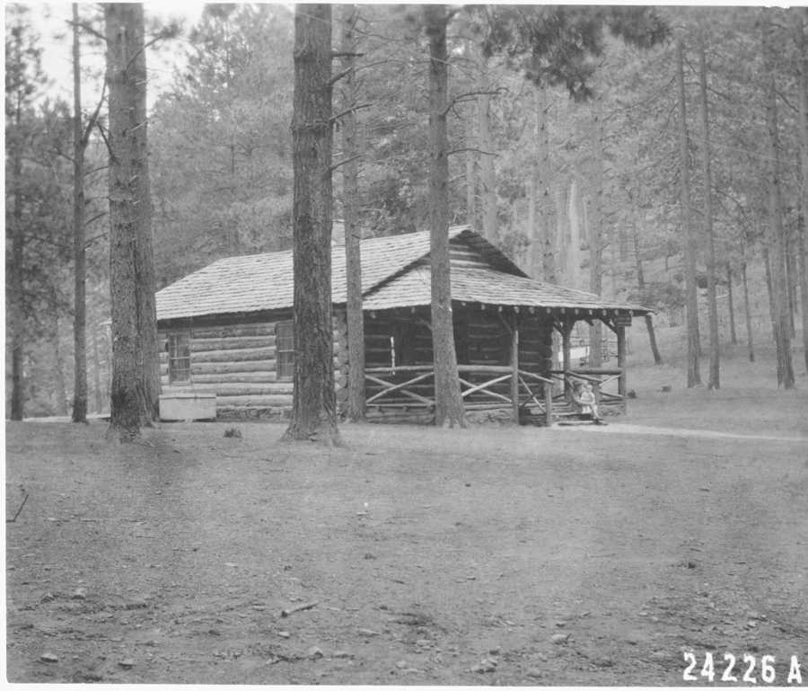 Soldier's Camp Ranger Station, 1915