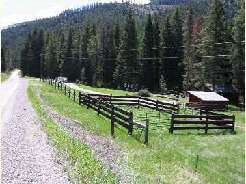 Mill Creek Cabin Corral
