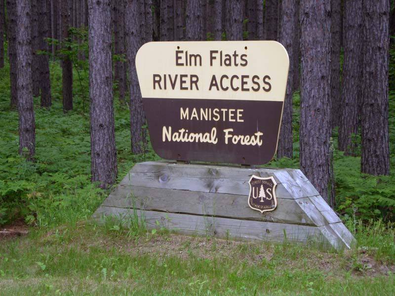 Elm Flats Entrance Sign
