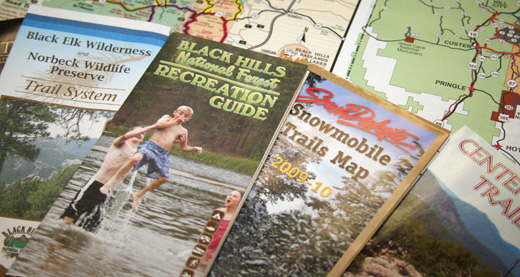 Black Hills National Forest Maps and Publications – Black Hills Tourist Map