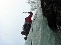 Ice Climbing Photo: Java