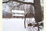 Sites Homestead at Winter