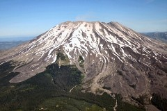 USFS Photo - South/ Monitor Ridge Climbing Route-- June 2006