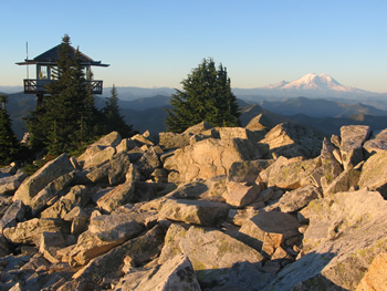mt baker snoqualmie national forest granite mountain lookout