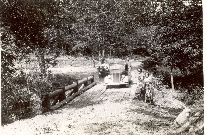 Bard Springs Bridge 1937