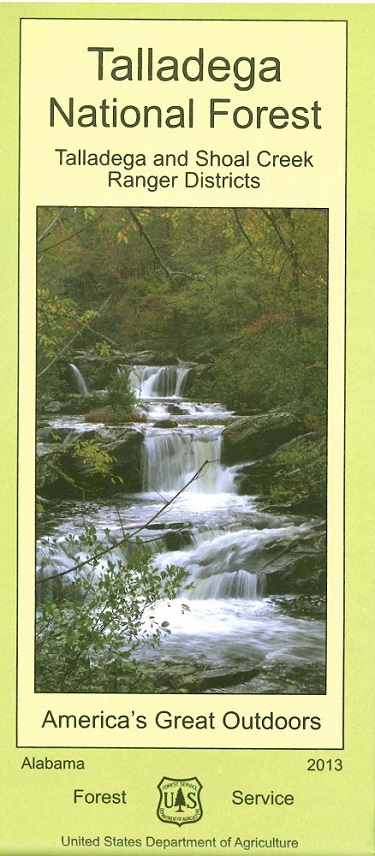 Talladega/Shoal Creek Visitor Map