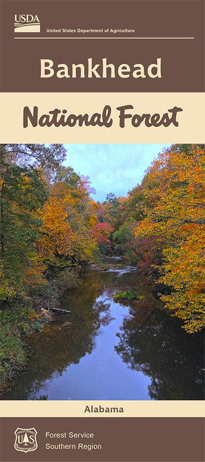 Bankhead National Forest Visitor Map