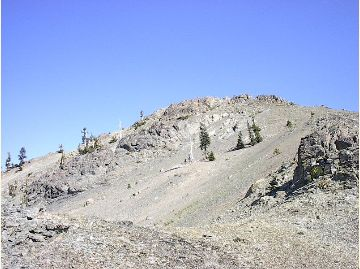 [Photograph]: Mt. Linn - Yolla Bolly - Middle Eel Wilderness