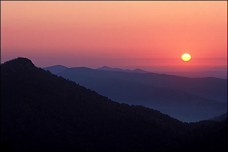 Sunset-Ouachita Mountains