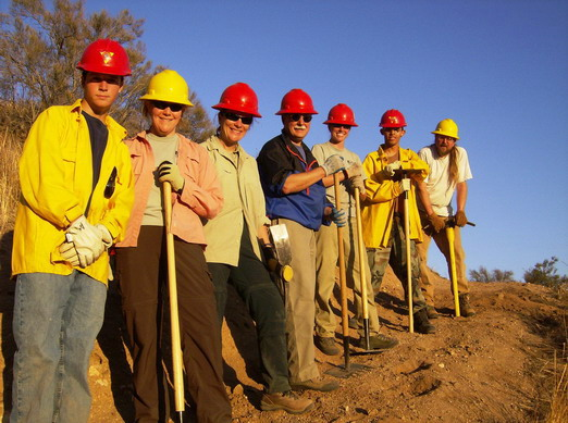 Angeles National Forest Volunteers