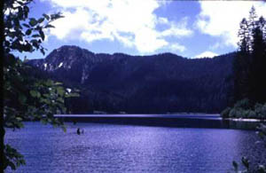Photograph of Blue Lake