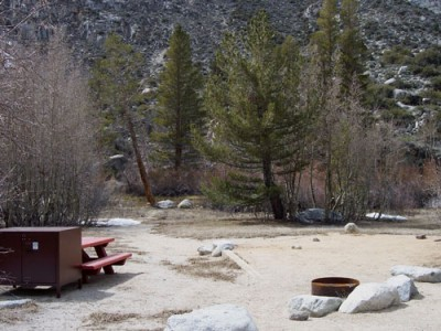 Springtime at Sabrina Campground