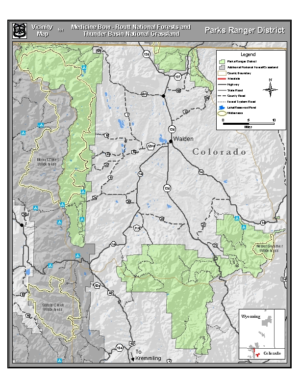 Medicine Bow Routt National Forests Thunder Basin National