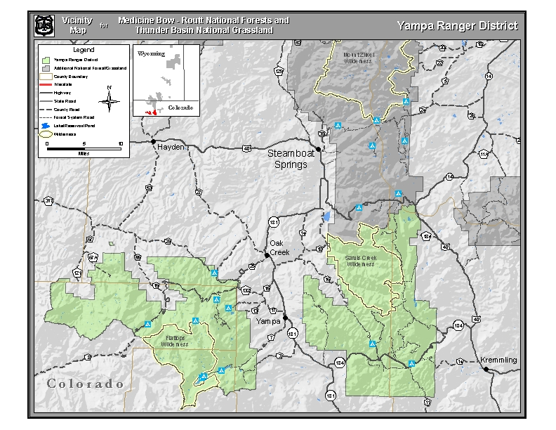 Medicine Bow Routt National Forests
