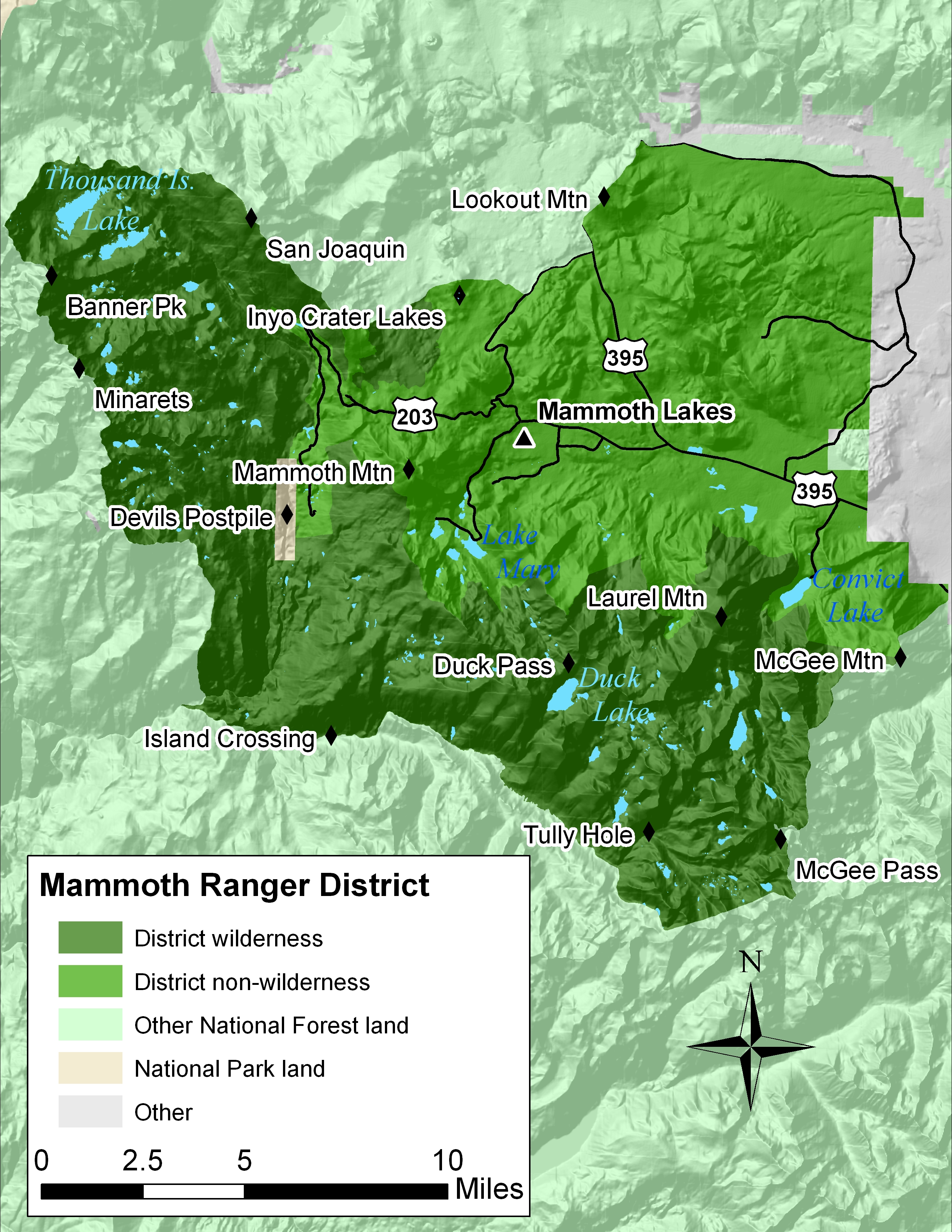 Mammoth Lakes Ranger District
