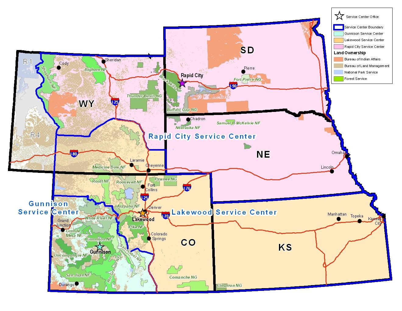 Region 2 - Forest & Grassland Health