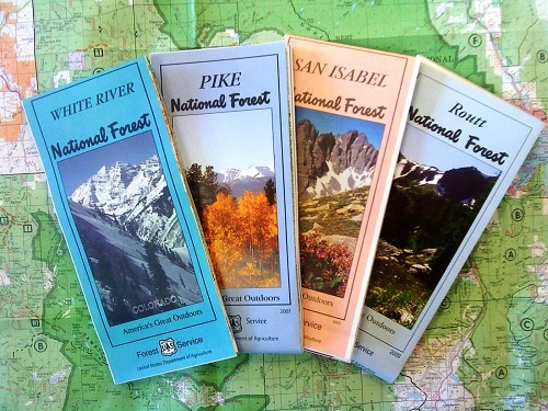 picture of different usfs maps