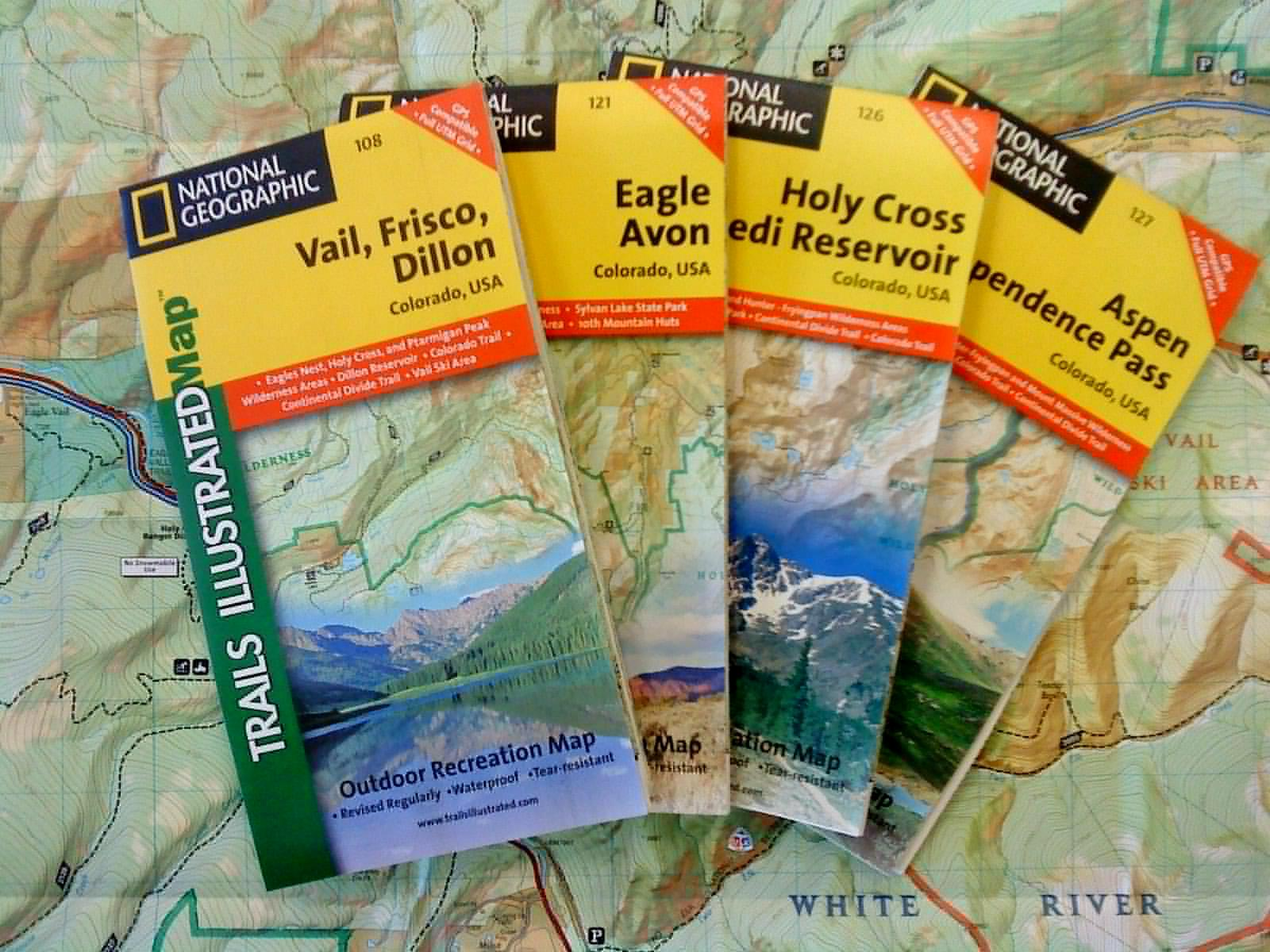 White River National Forest Maps Publications - Us forest service topographic maps